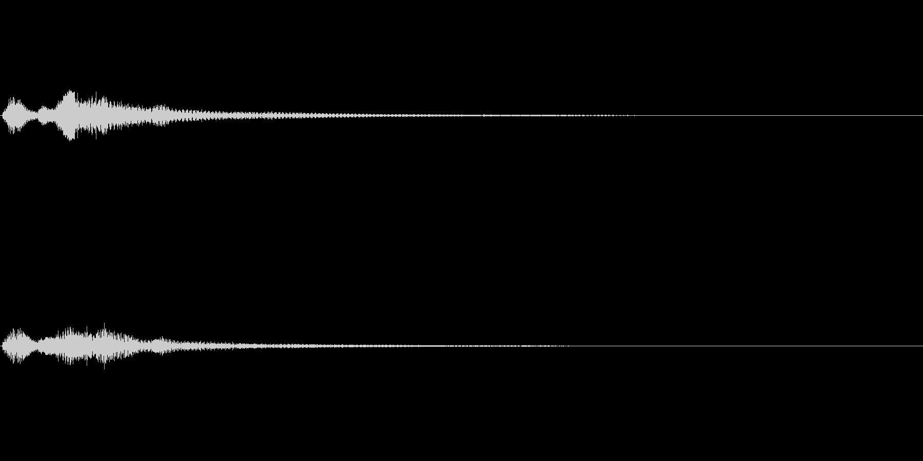 バイオリン 決定音 正解 装備変更 SEの未再生の波形
