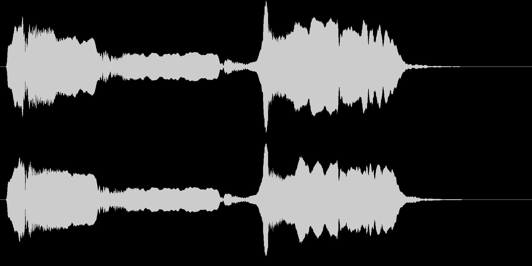 音侍SE「尺八フレーズ1」エニグマ音02の未再生の波形