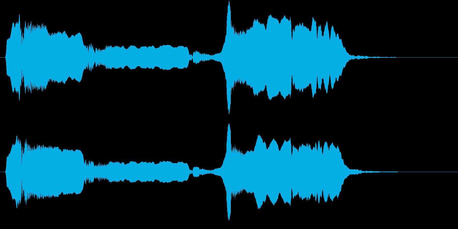 音侍SE「尺八フレーズ1」エニグマ音02の再生済みの波形