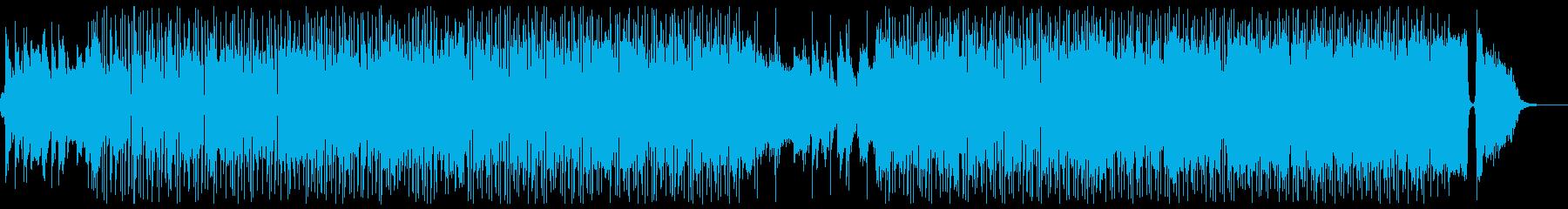カフェミュージック:サックス Mix-Aの再生済みの波形