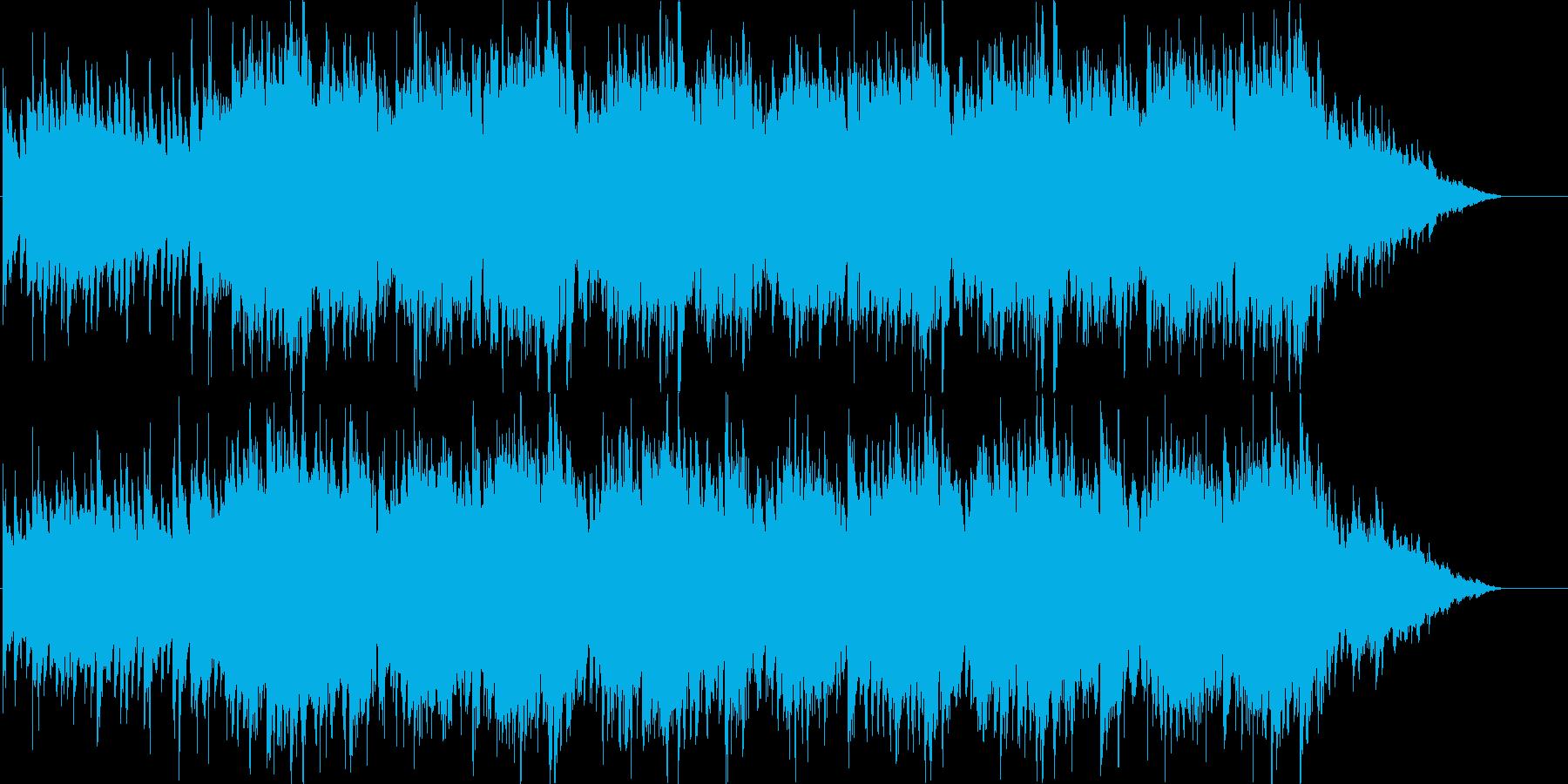 ゲーム用素材/タイトルの再生済みの波形