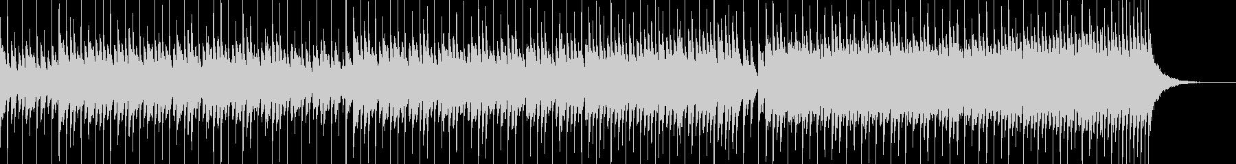 慌ただしい日常をイメージさせるBGMの未再生の波形