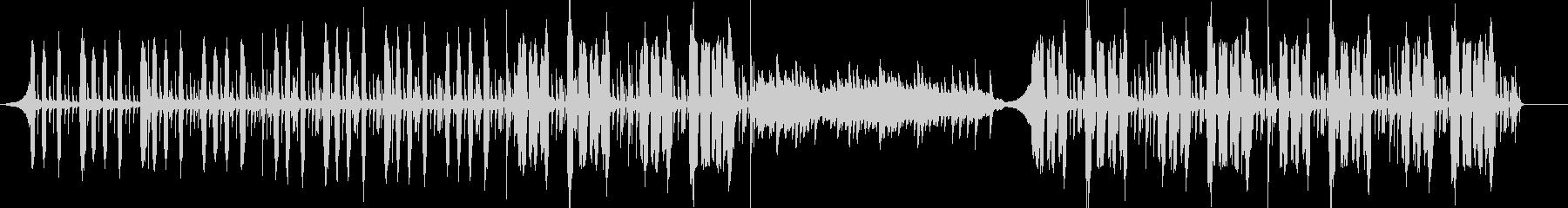 ピアノメインの優しい温かみのあるポップの未再生の波形