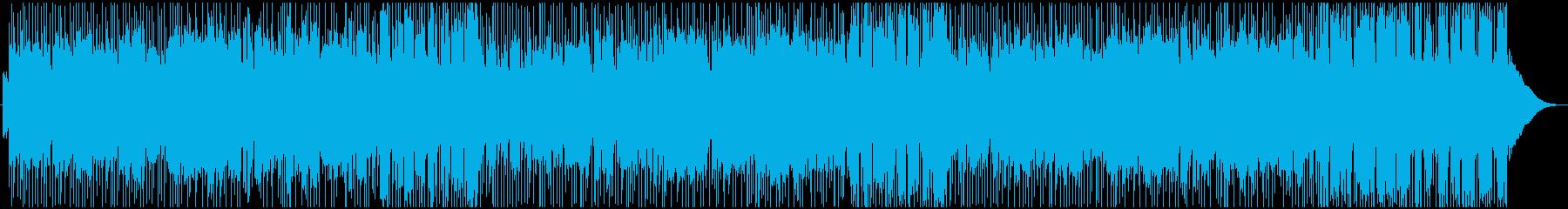 朝のジョギングをイメージしたサックス曲の再生済みの波形