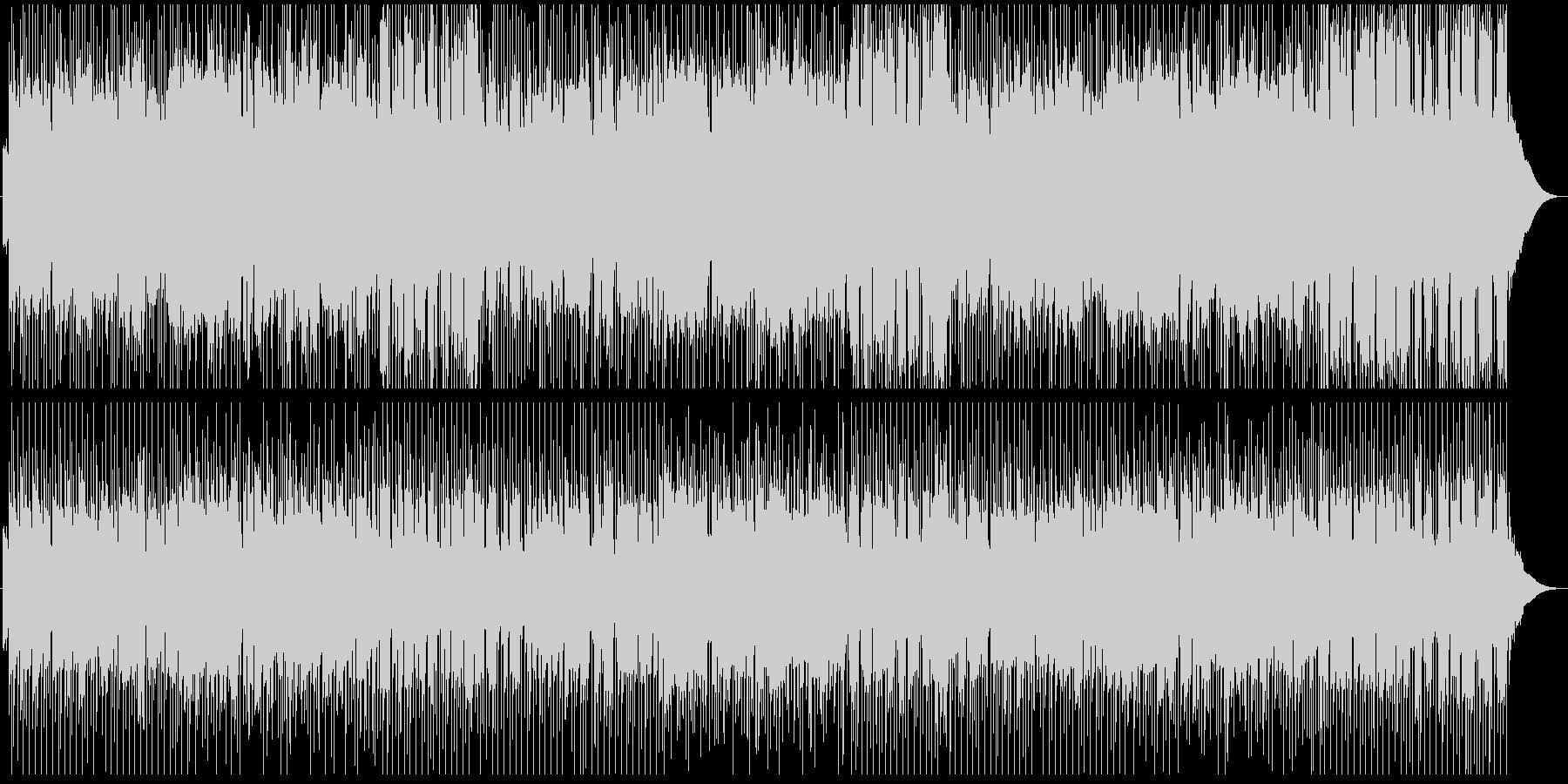 朝のジョギングをイメージしたサックス曲の未再生の波形