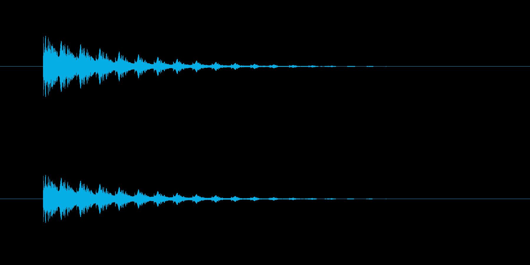 ポヨヨヨン(マシーン、ワープ)の再生済みの波形