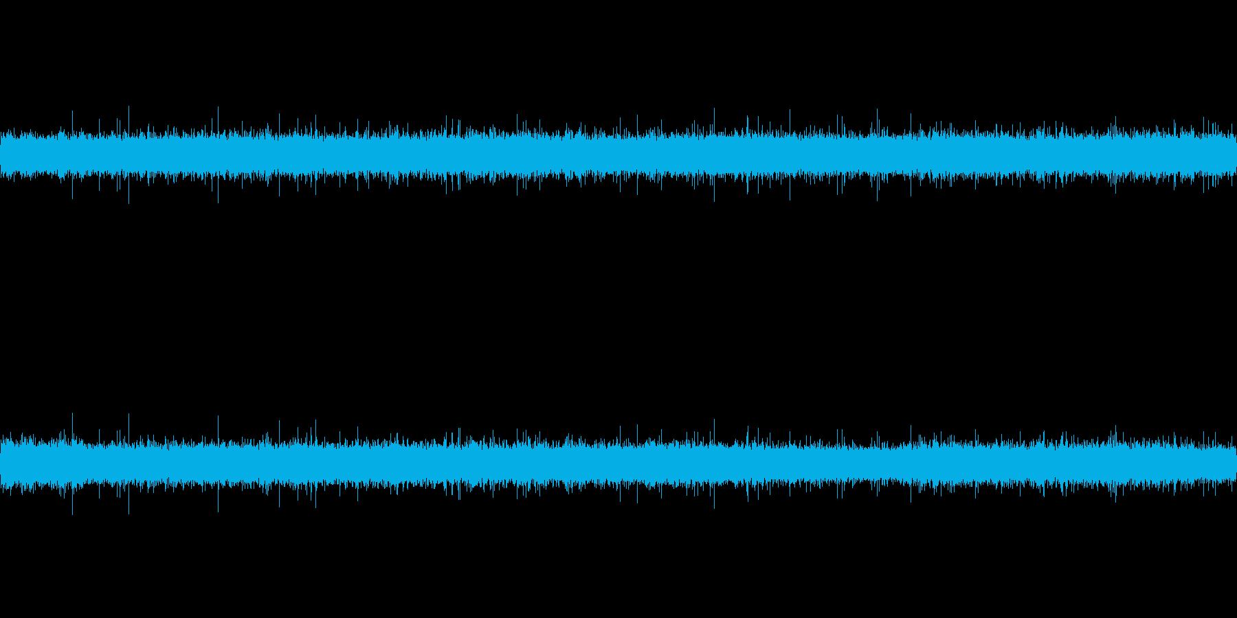 清流の川音の再生済みの波形