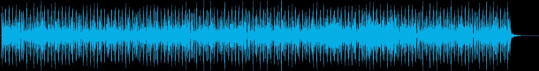 ゆる〜〜い癒しダンスポップの再生済みの波形