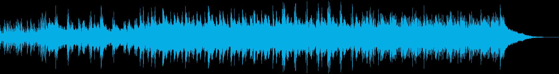 さりげなく少し切ないピアノのBGMの再生済みの波形