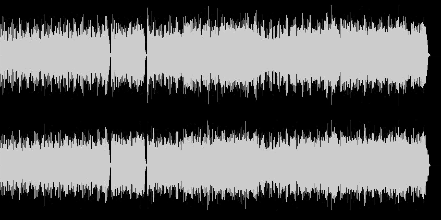 ハード・エッジなマジカル・ギターサウンドの未再生の波形