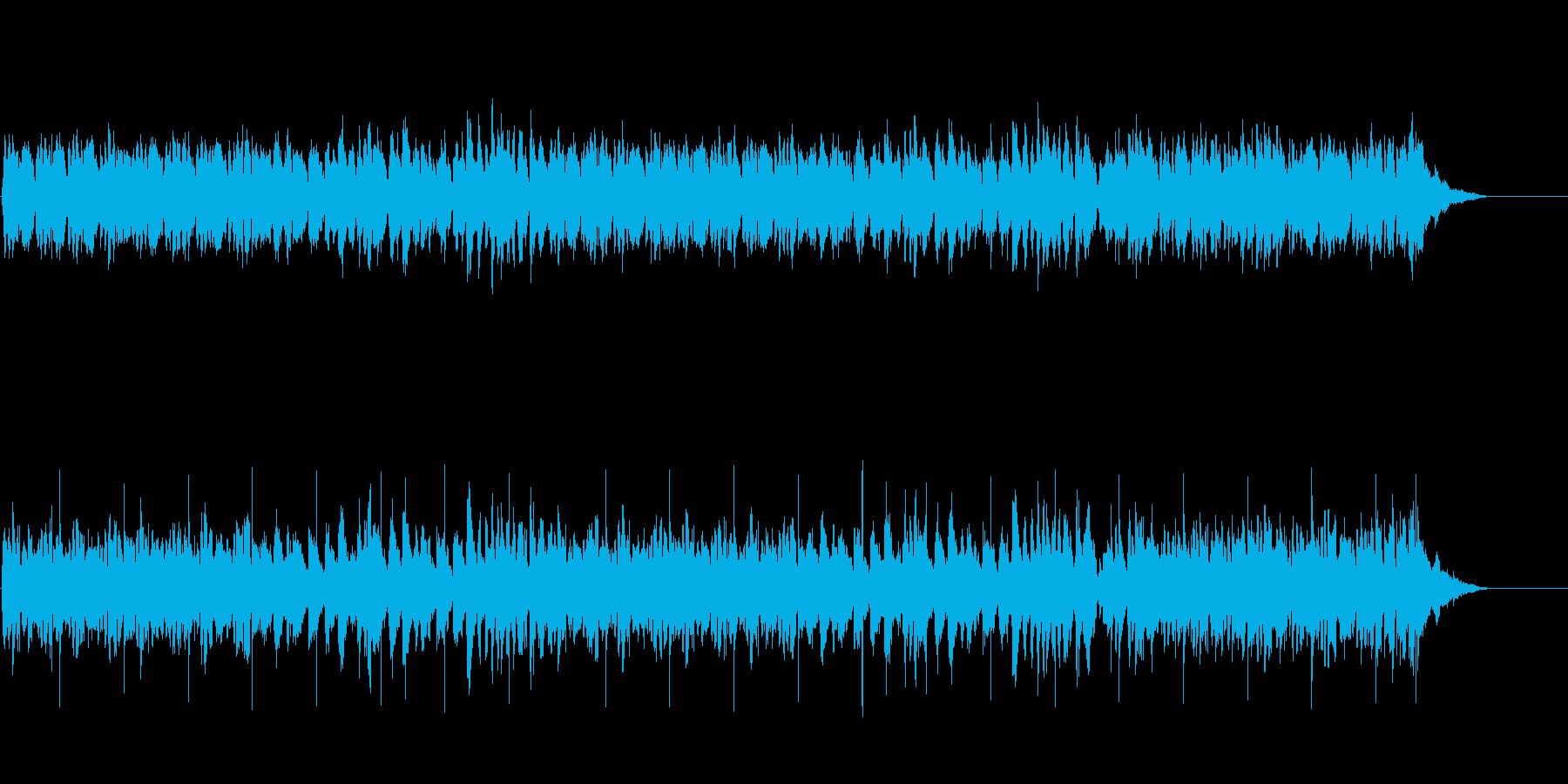 ハーモニックなギター編の再生済みの波形