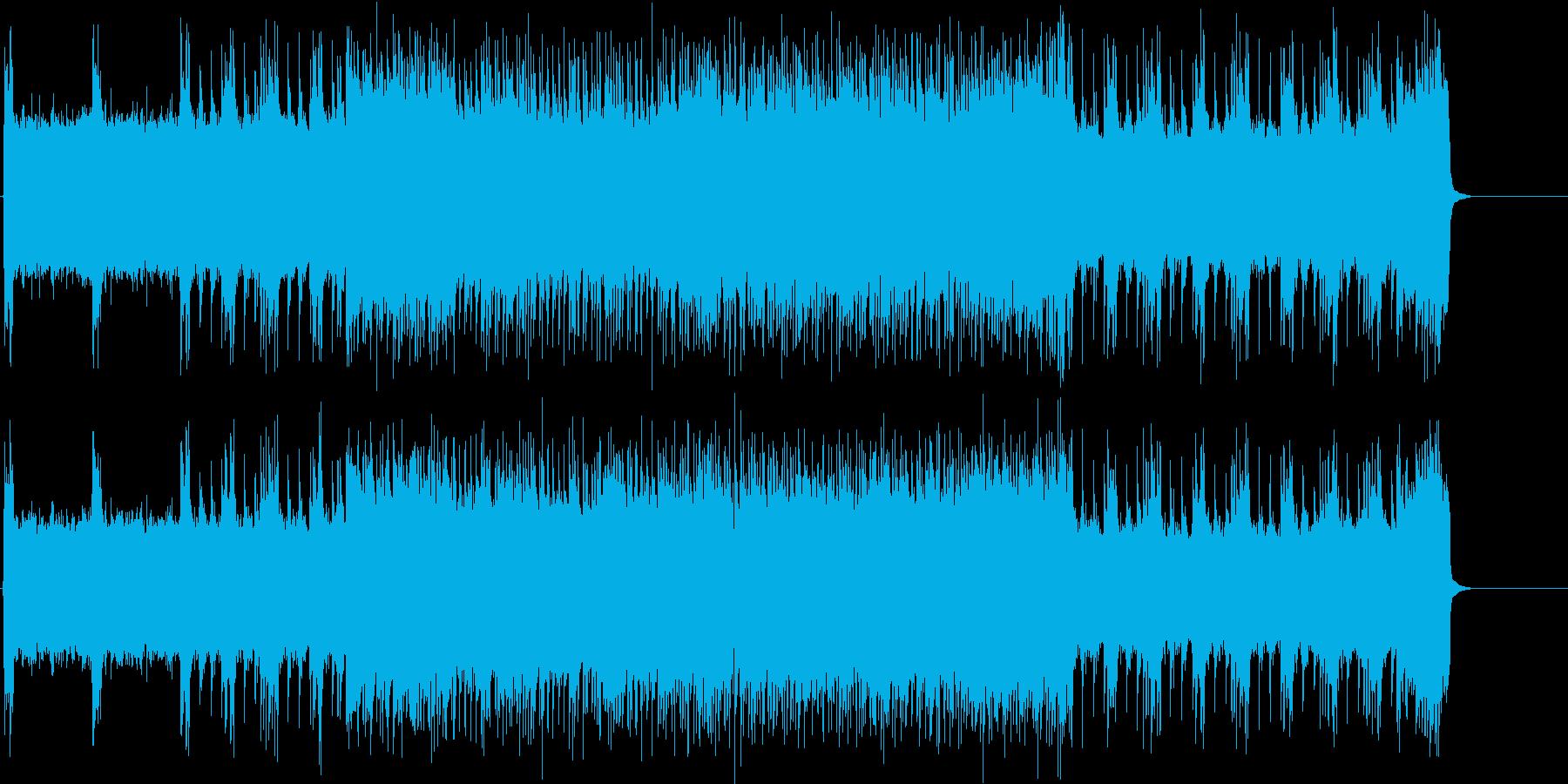 エナジー大放出サウンドの再生済みの波形
