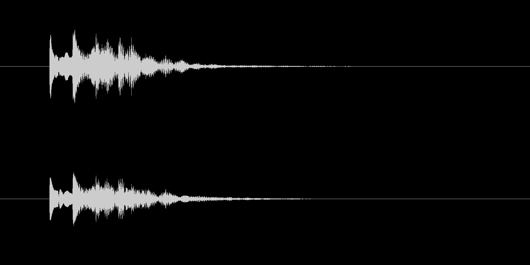 ピロリロ(透明感、爽やか)の未再生の波形