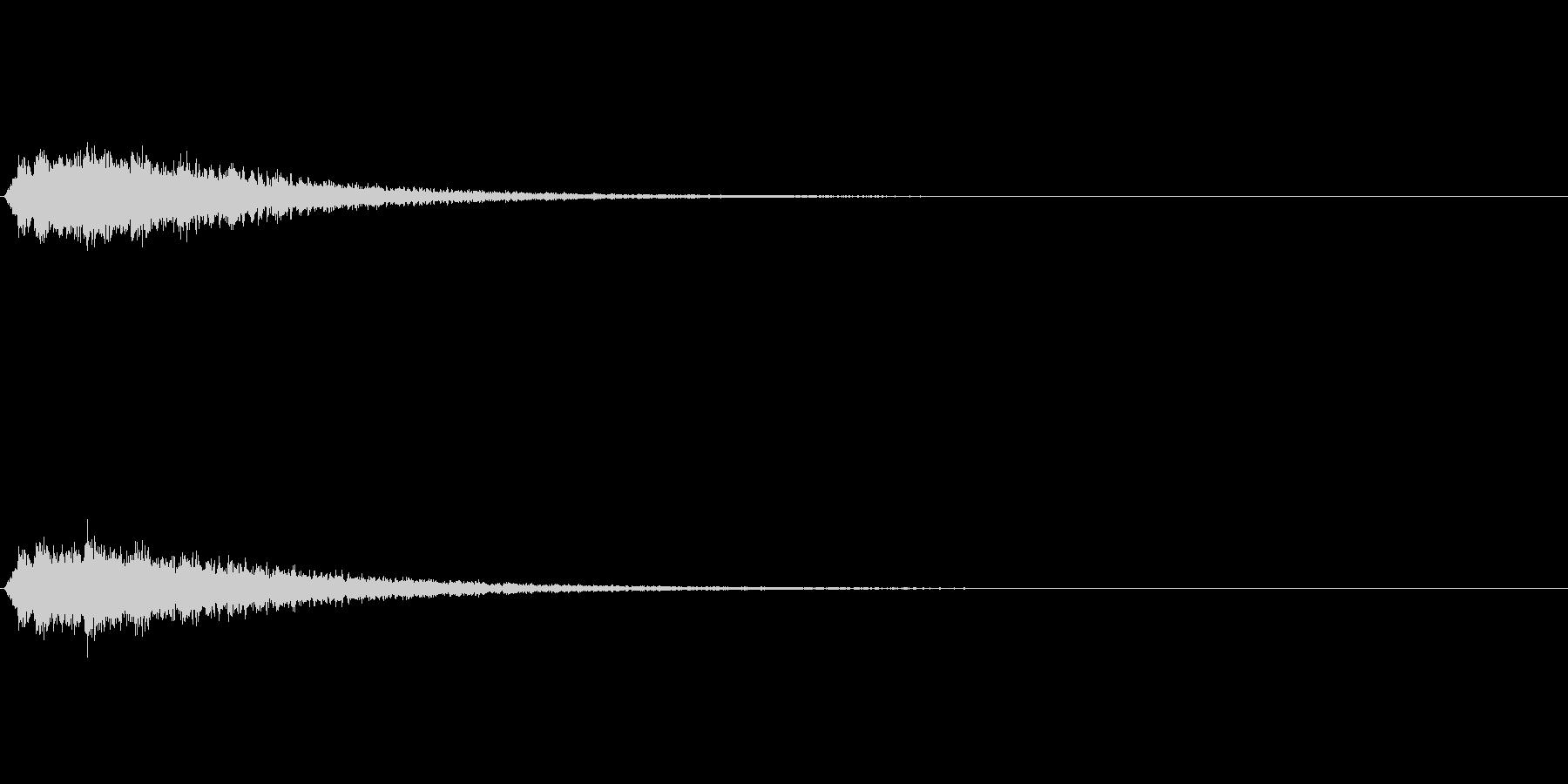 ベルツリー (シャンシャンシャンシャン…の未再生の波形
