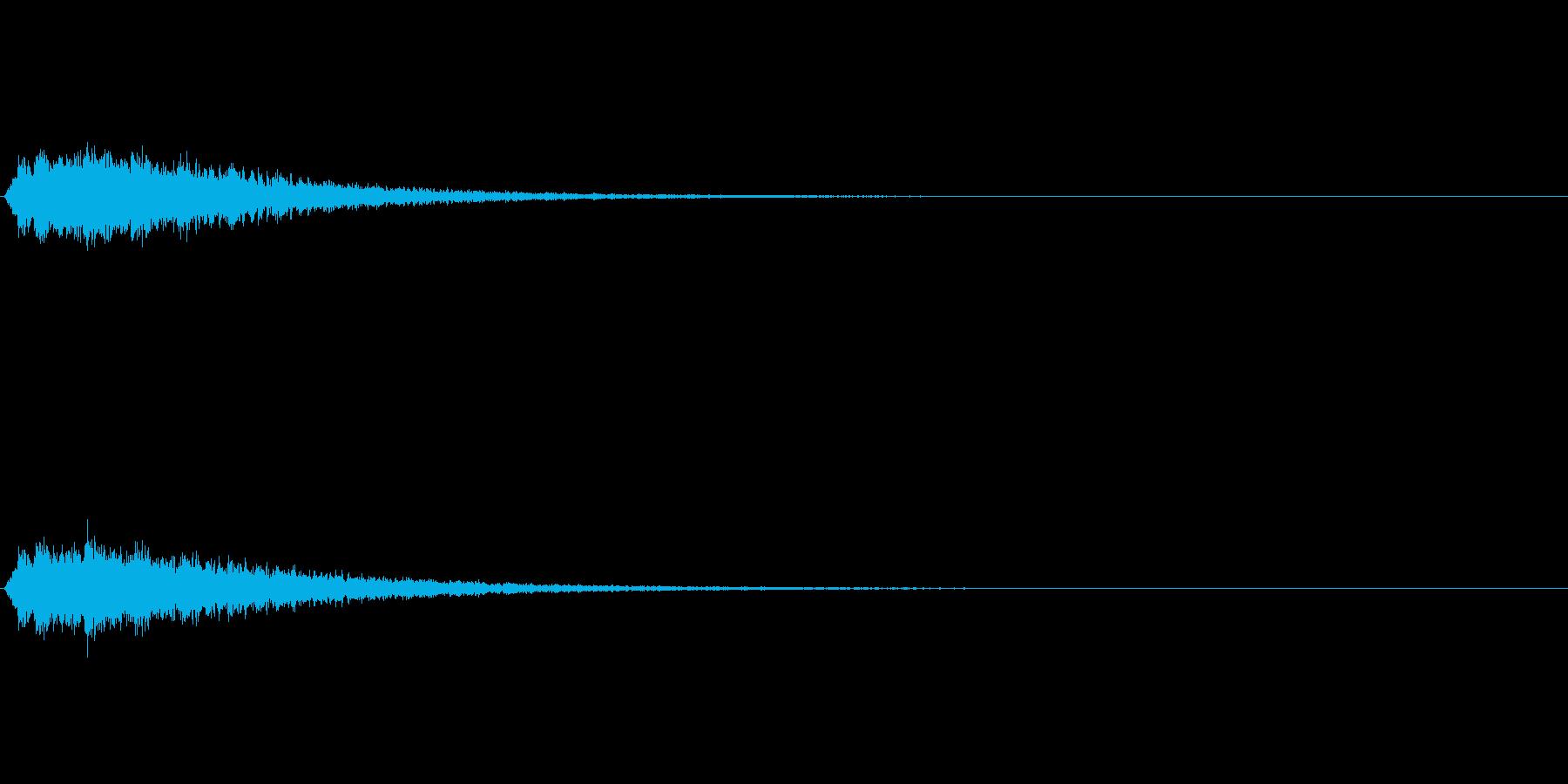 ベルツリー (シャンシャンシャンシャン…の再生済みの波形