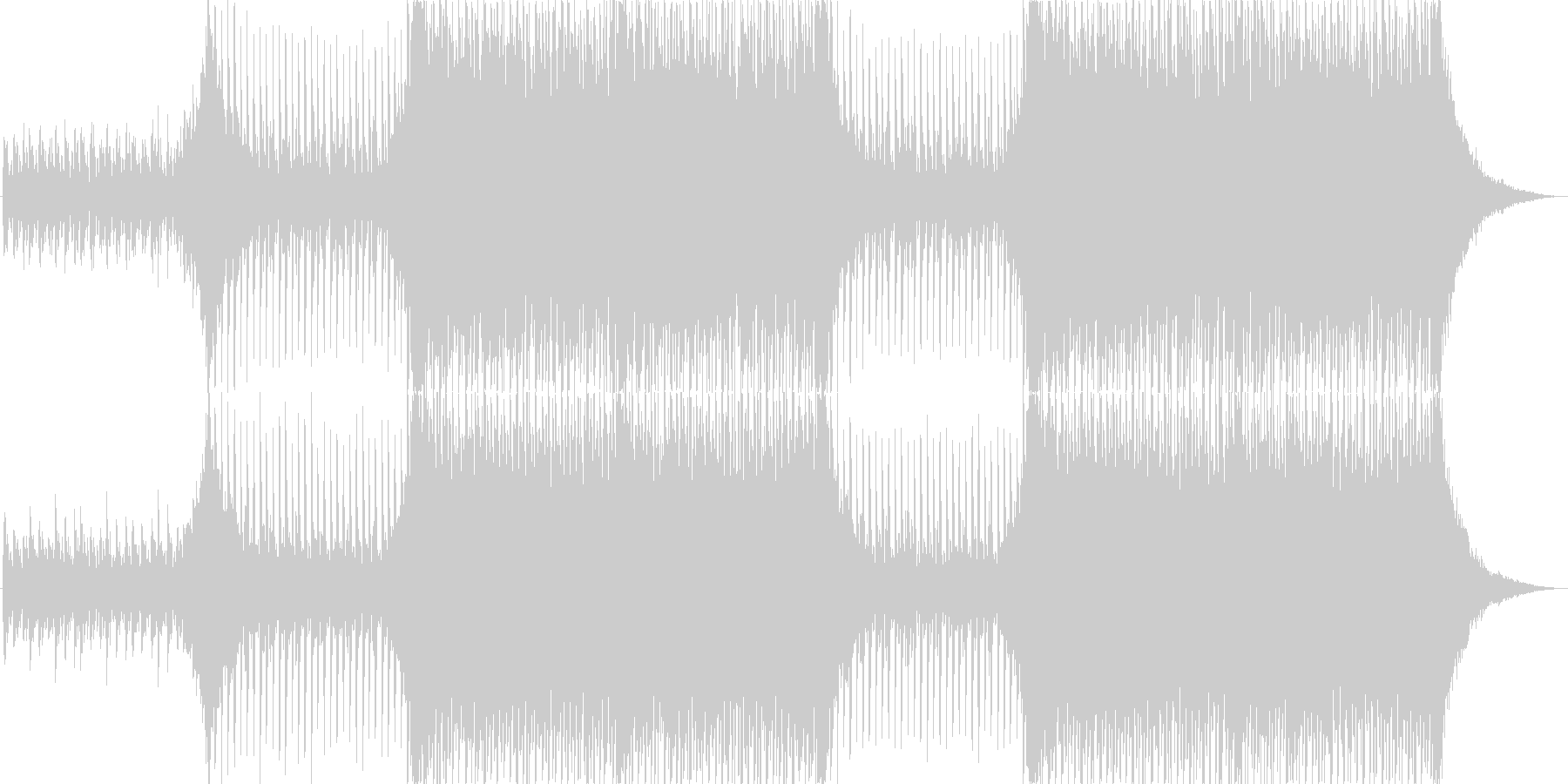企業VPや映像に、華やか、オーケストラ2の未再生の波形