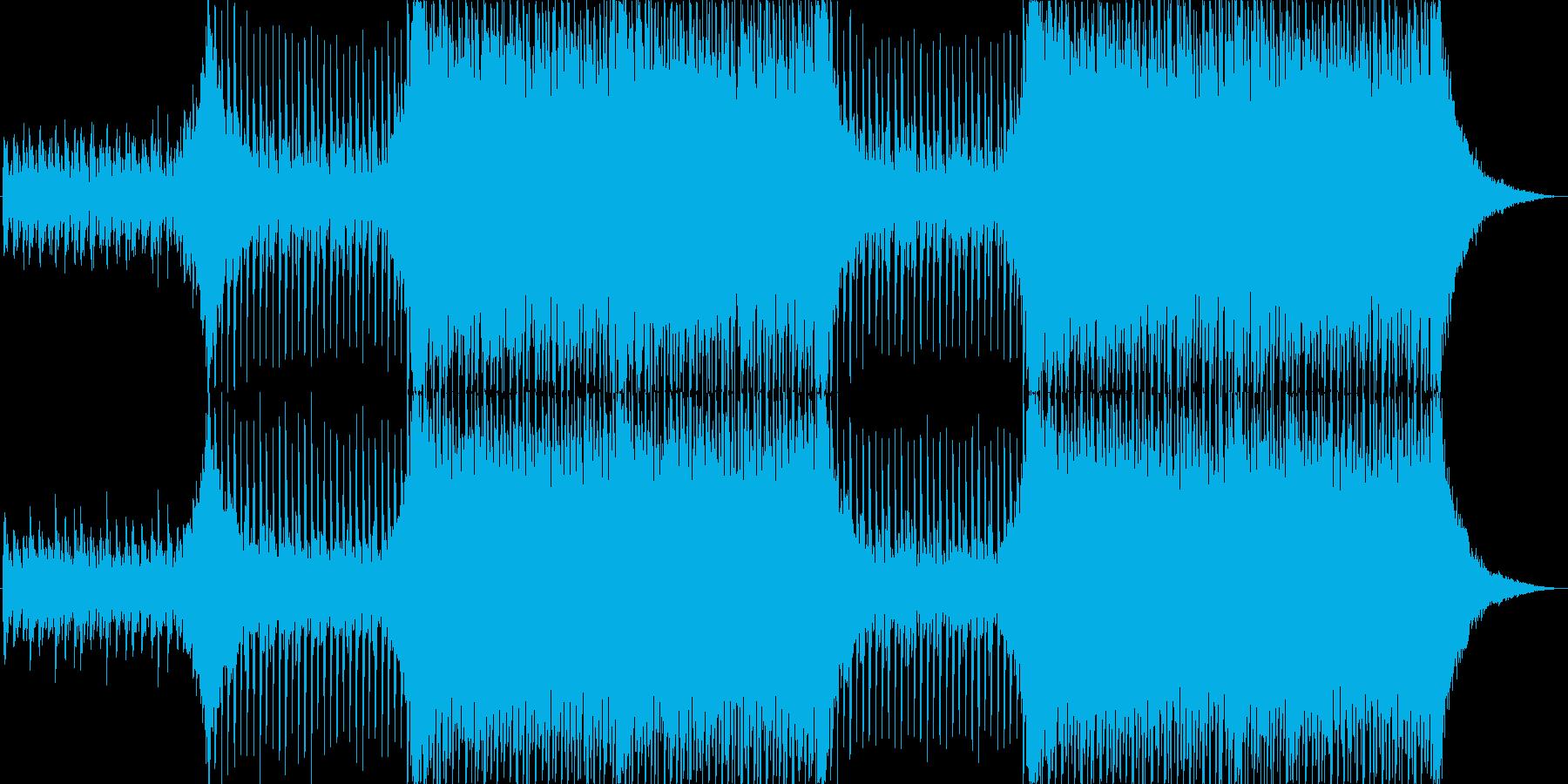 企業VPや映像に、華やか、オーケストラ2の再生済みの波形