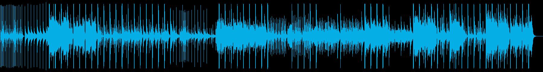 鉄琴やストリングスによる切ない楽曲の再生済みの波形