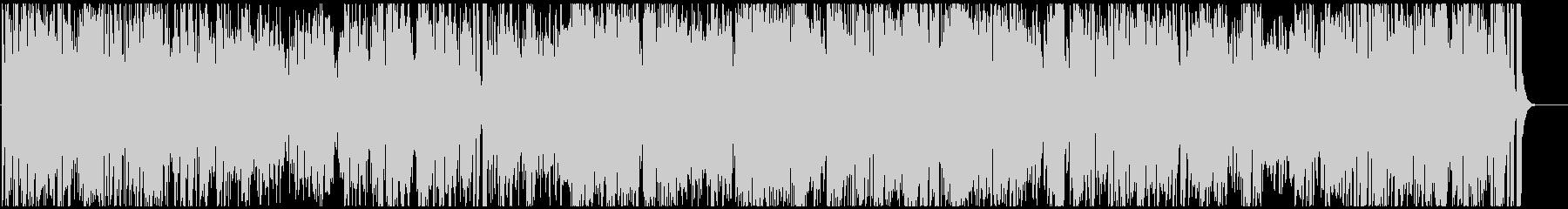 トロピカルなラテンジャズ サックス生録の未再生の波形