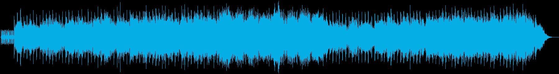 優しく包み込むようなシンセ系ボイス曲の再生済みの波形