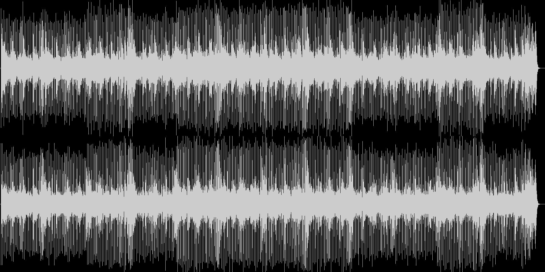 元気の出るポップスBGMの未再生の波形