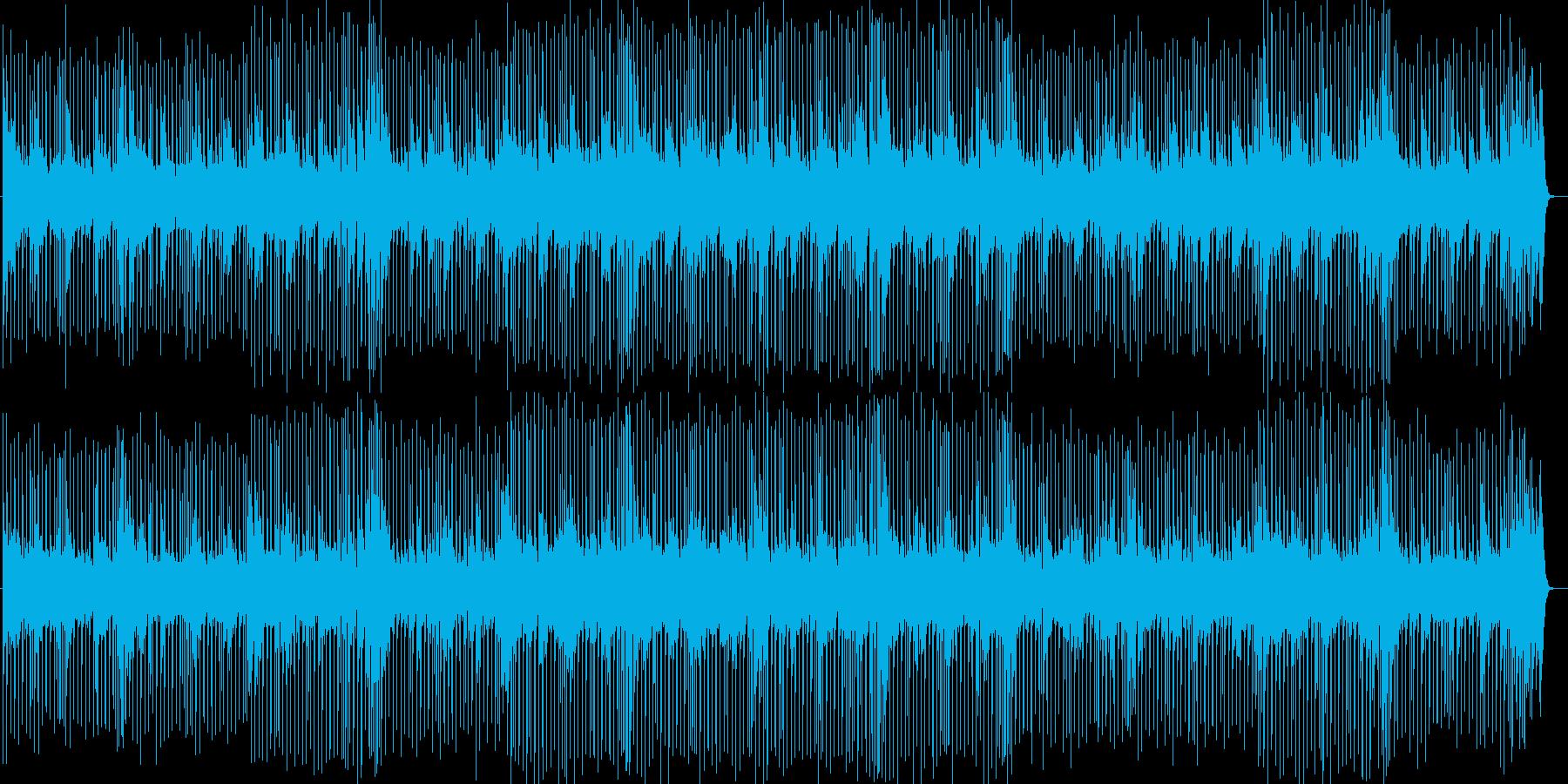 元気の出るポップスBGMの再生済みの波形