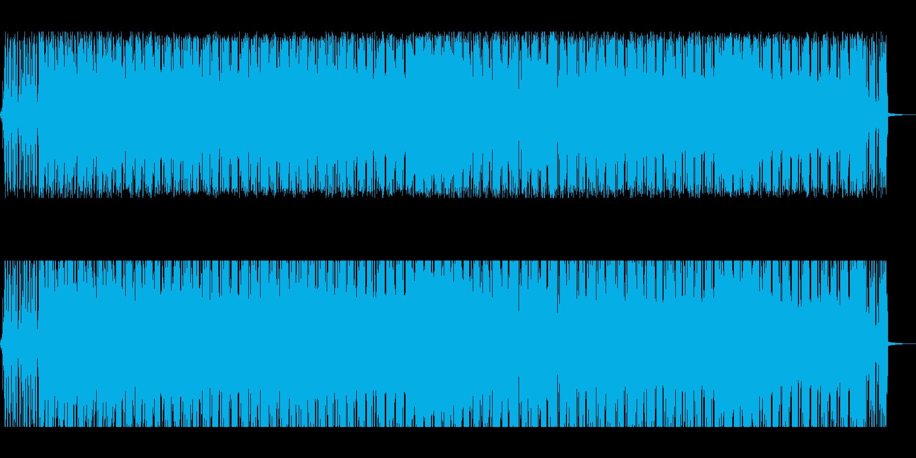 アンニュイなビートにギターのアルペジオの再生済みの波形