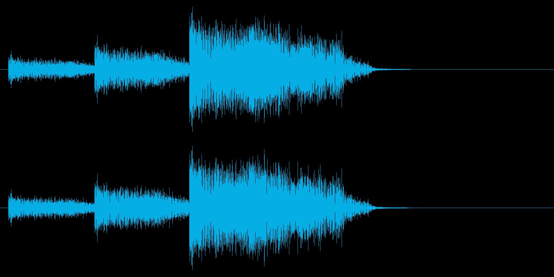 ヒューンヒューンの再生済みの波形