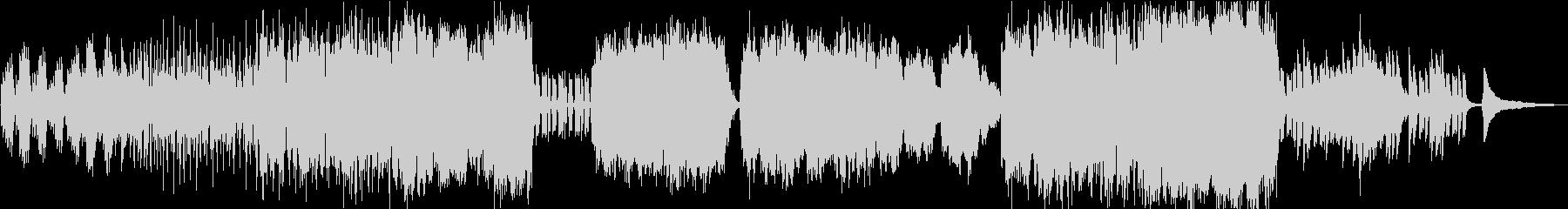 生演奏チェロ 渋めのバラードポップスの未再生の波形