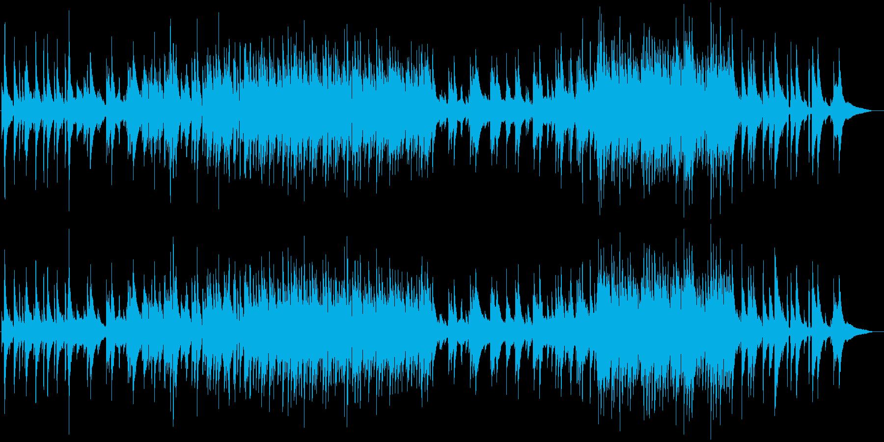しっとりおしゃれで聴き心地の良いジャズの再生済みの波形