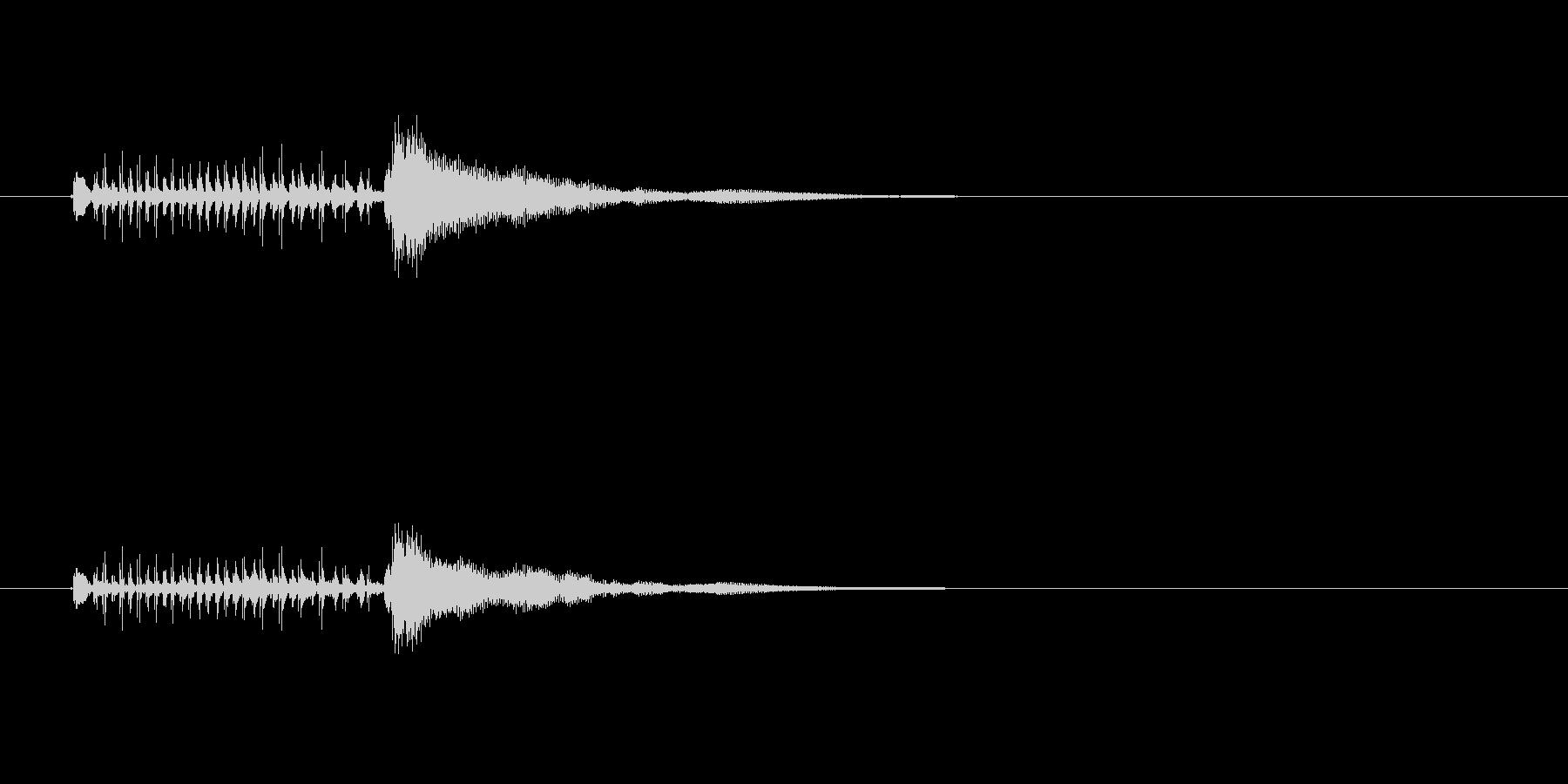 ジングル(デンデケ調ブルージーンズ風)の未再生の波形