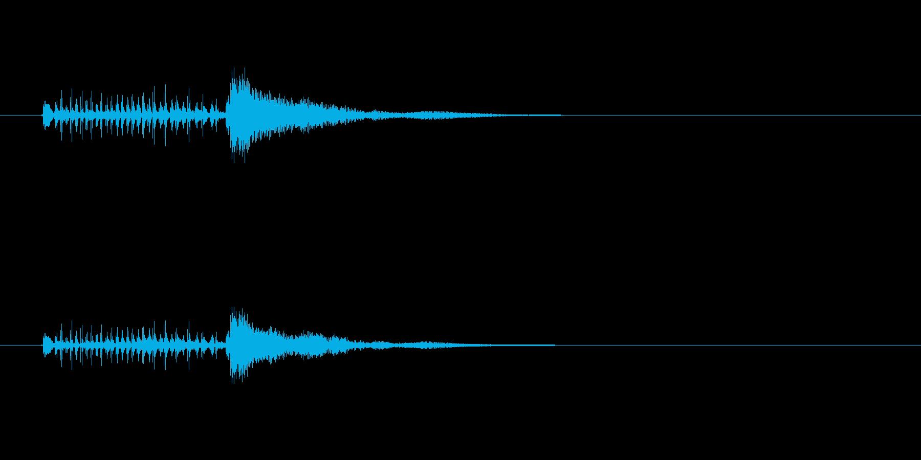 ジングル(デンデケ調ブルージーンズ風)の再生済みの波形