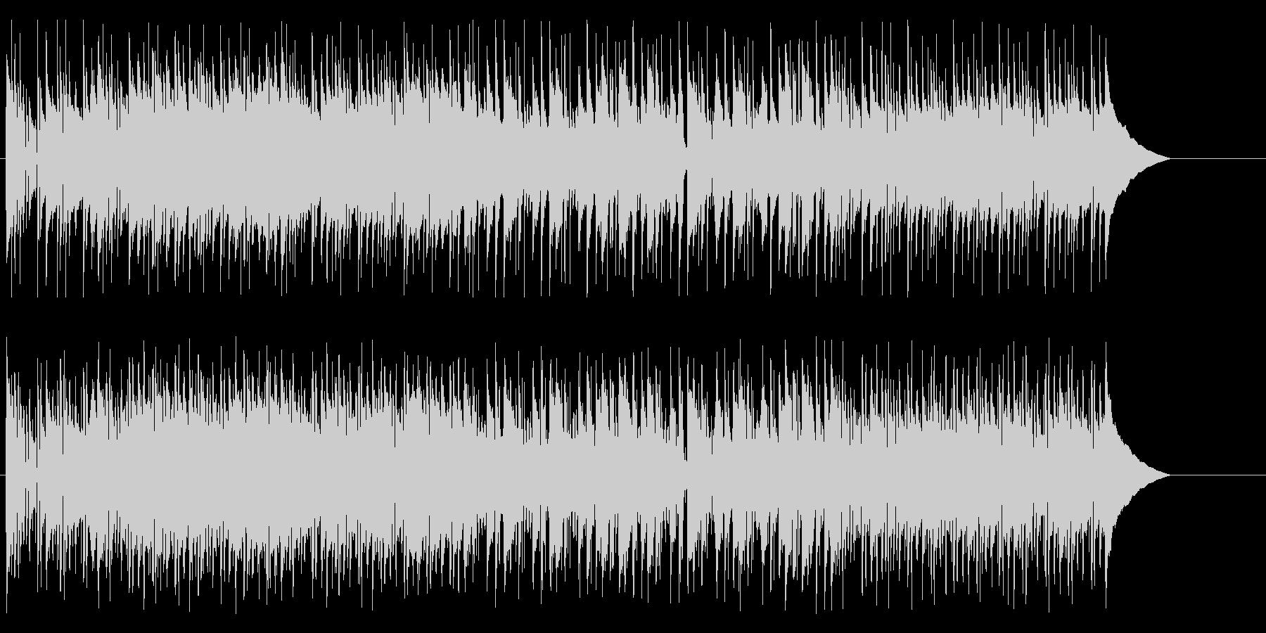 アコーディオンによるおしゃれな昼下がりの未再生の波形
