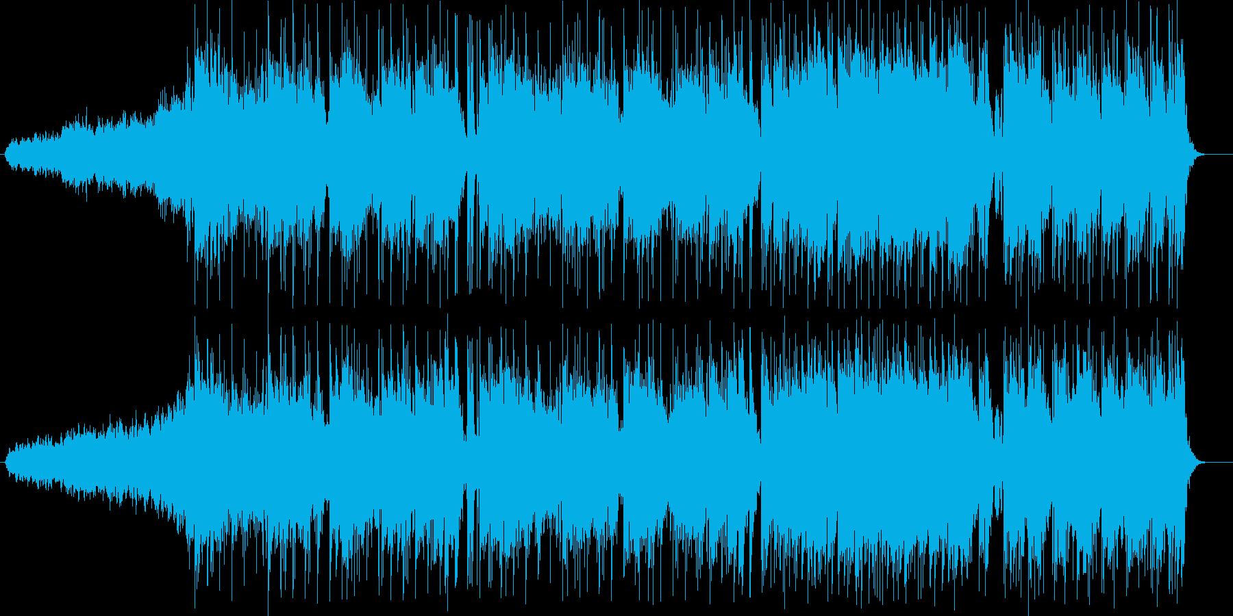 華麗でメロディアスなエレキサウンドの再生済みの波形