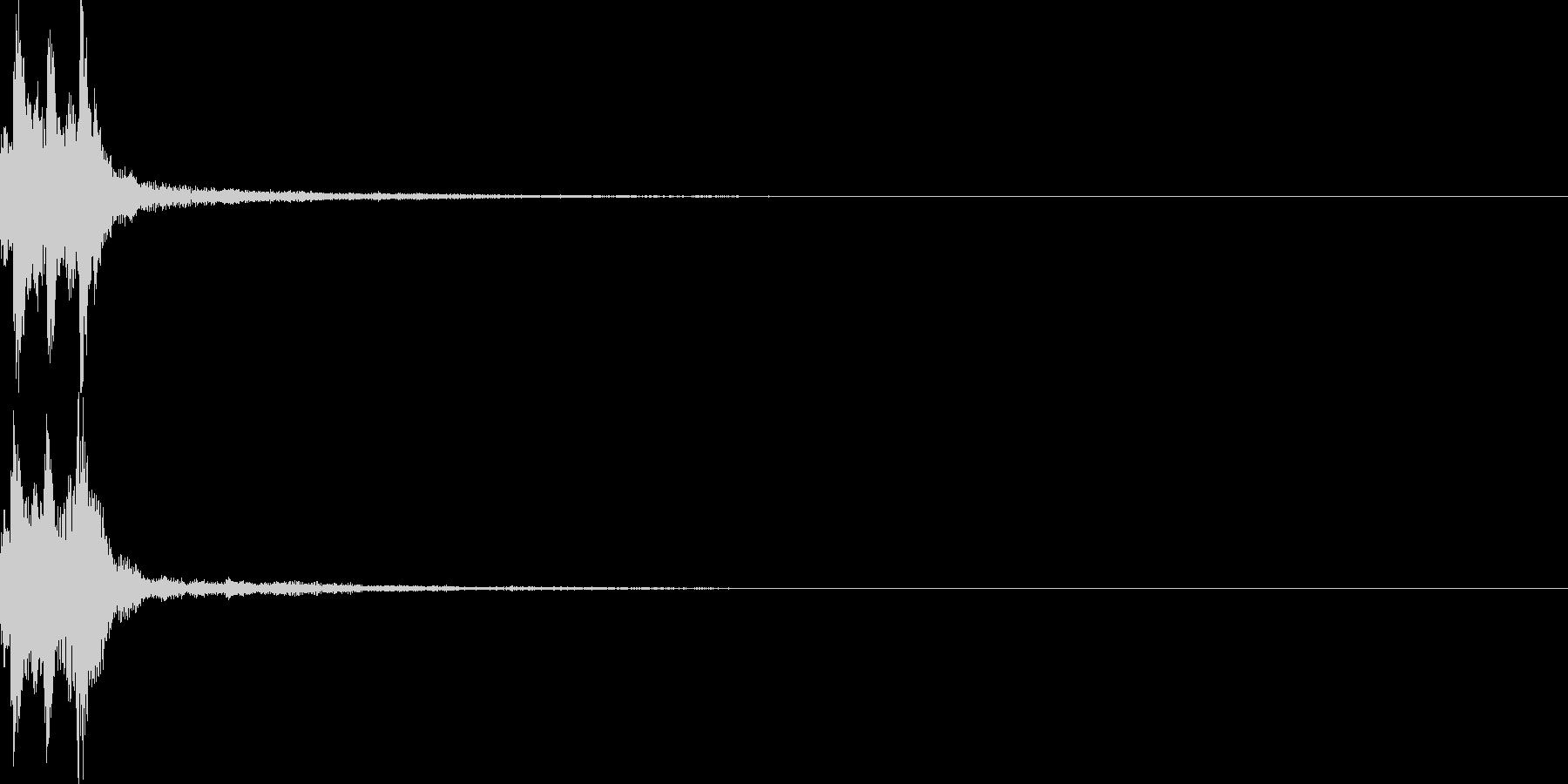 サウンドロゴ55の未再生の波形