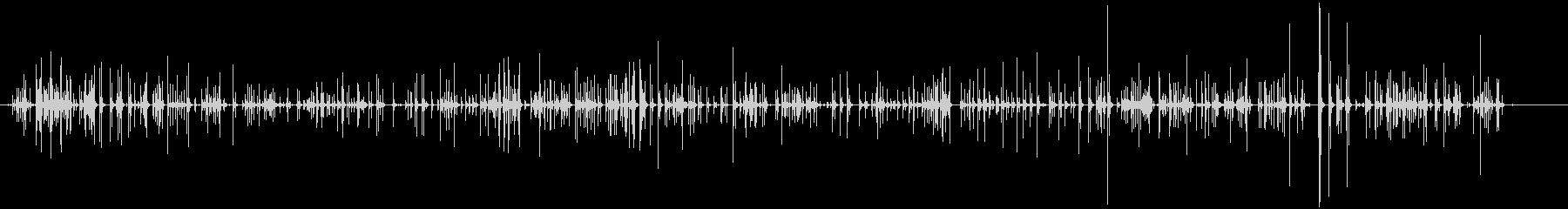 パソコンのキーボード打鍵音(カタカタ)の未再生の波形