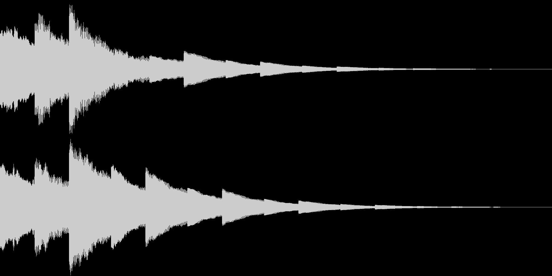 DigitalPay 決済音 3の未再生の波形