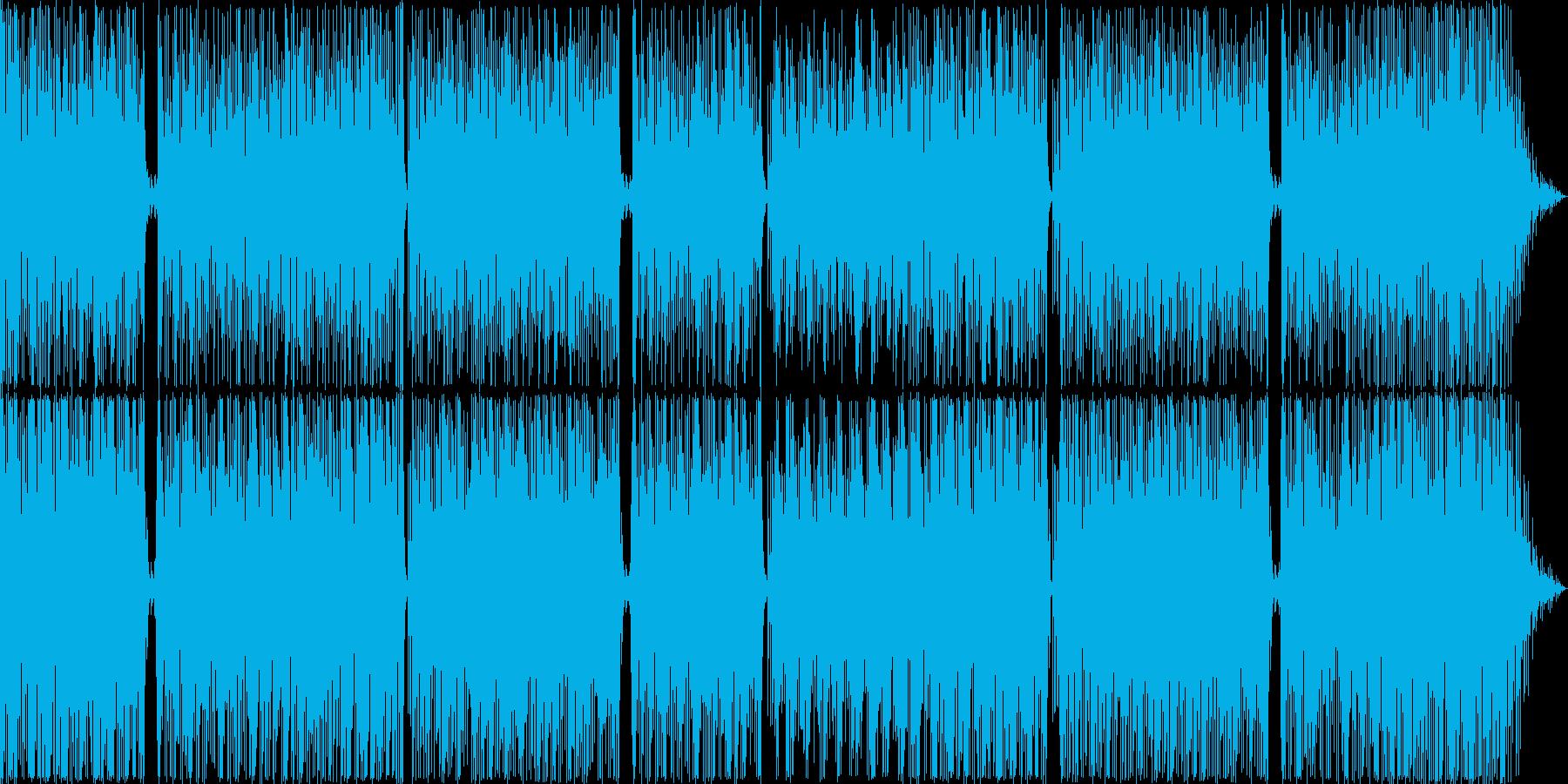 エキゾチックなハワイアンサウンドの再生済みの波形