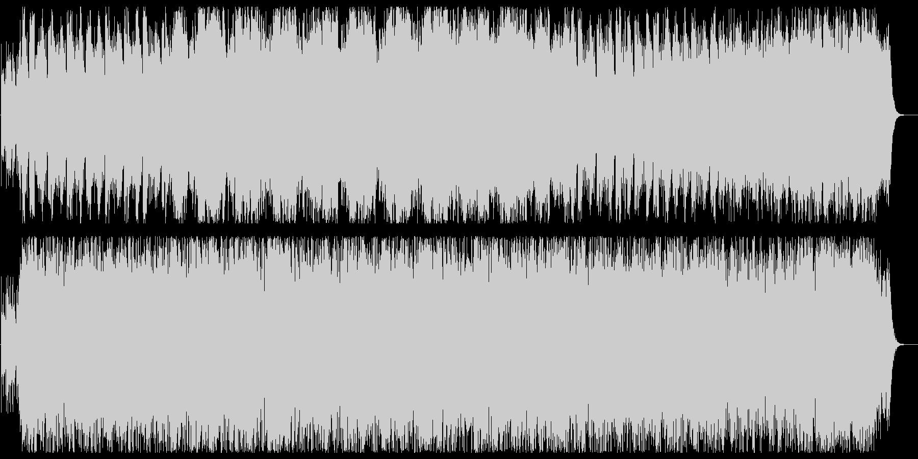 よさこい楽曲風BGM、和風シンセサウンドの未再生の波形