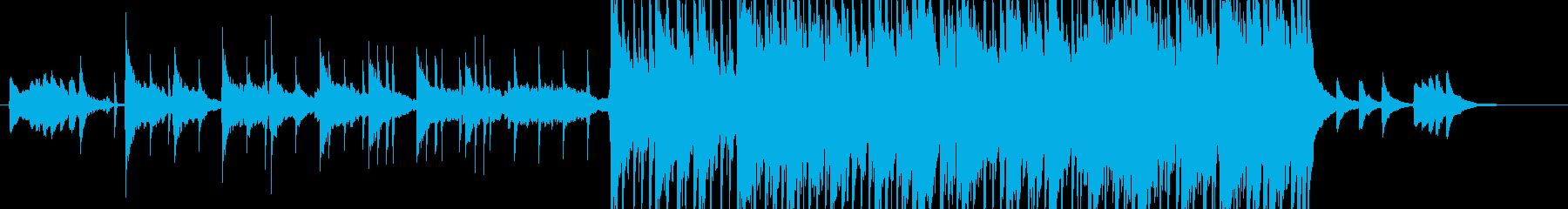 琴による近未来的な和風ダンスビートの再生済みの波形