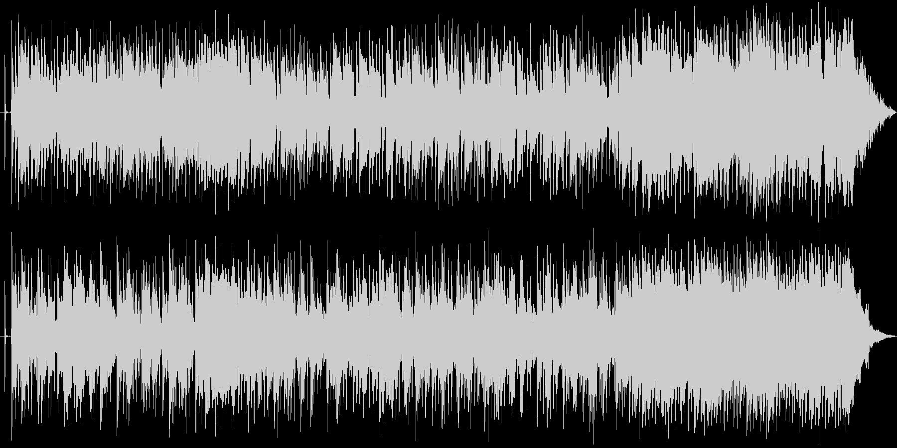 アンニュイ、アコギ、ピアノ、透明感の未再生の波形