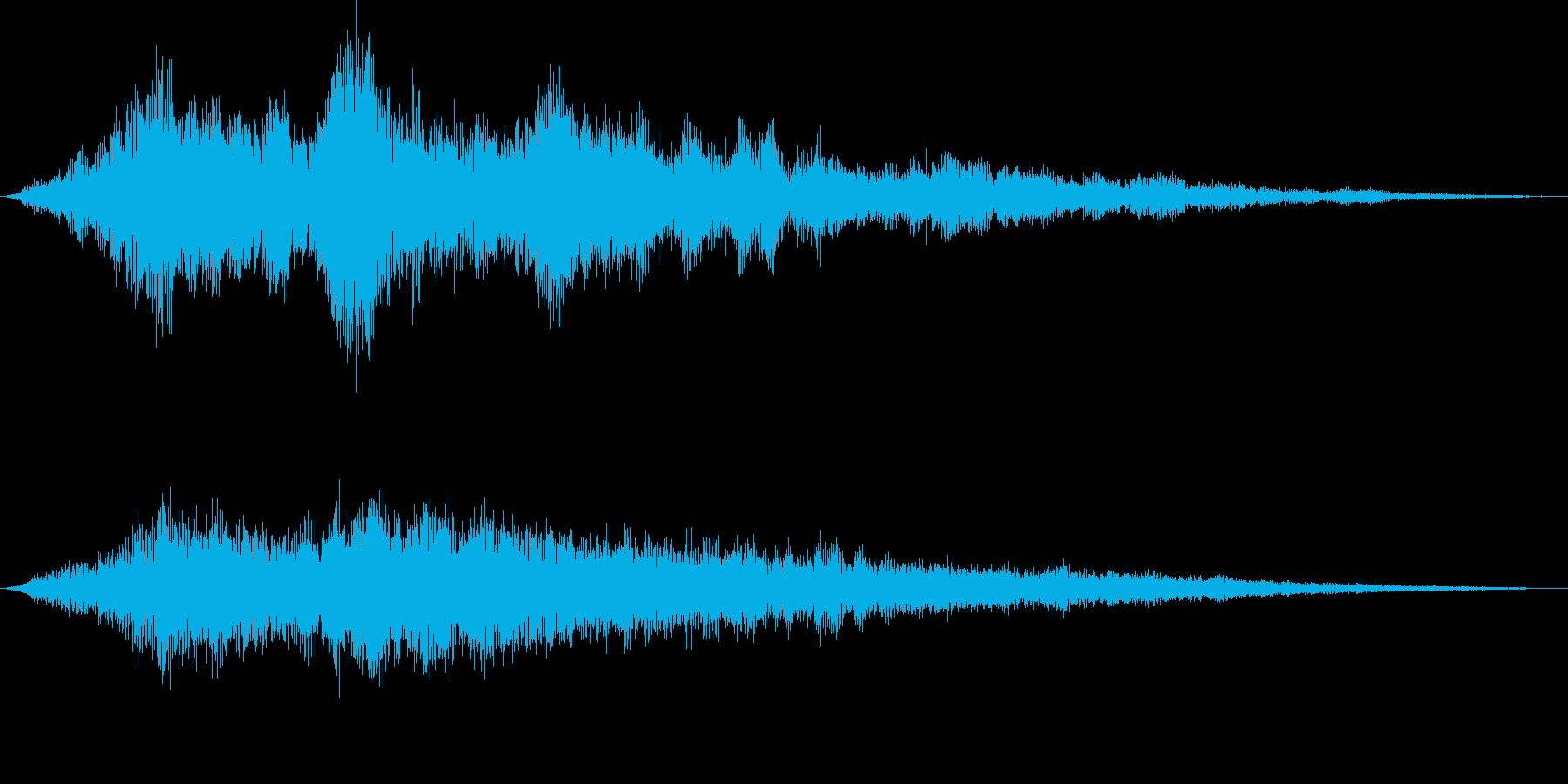 ファーン アンビエント系の再生済みの波形