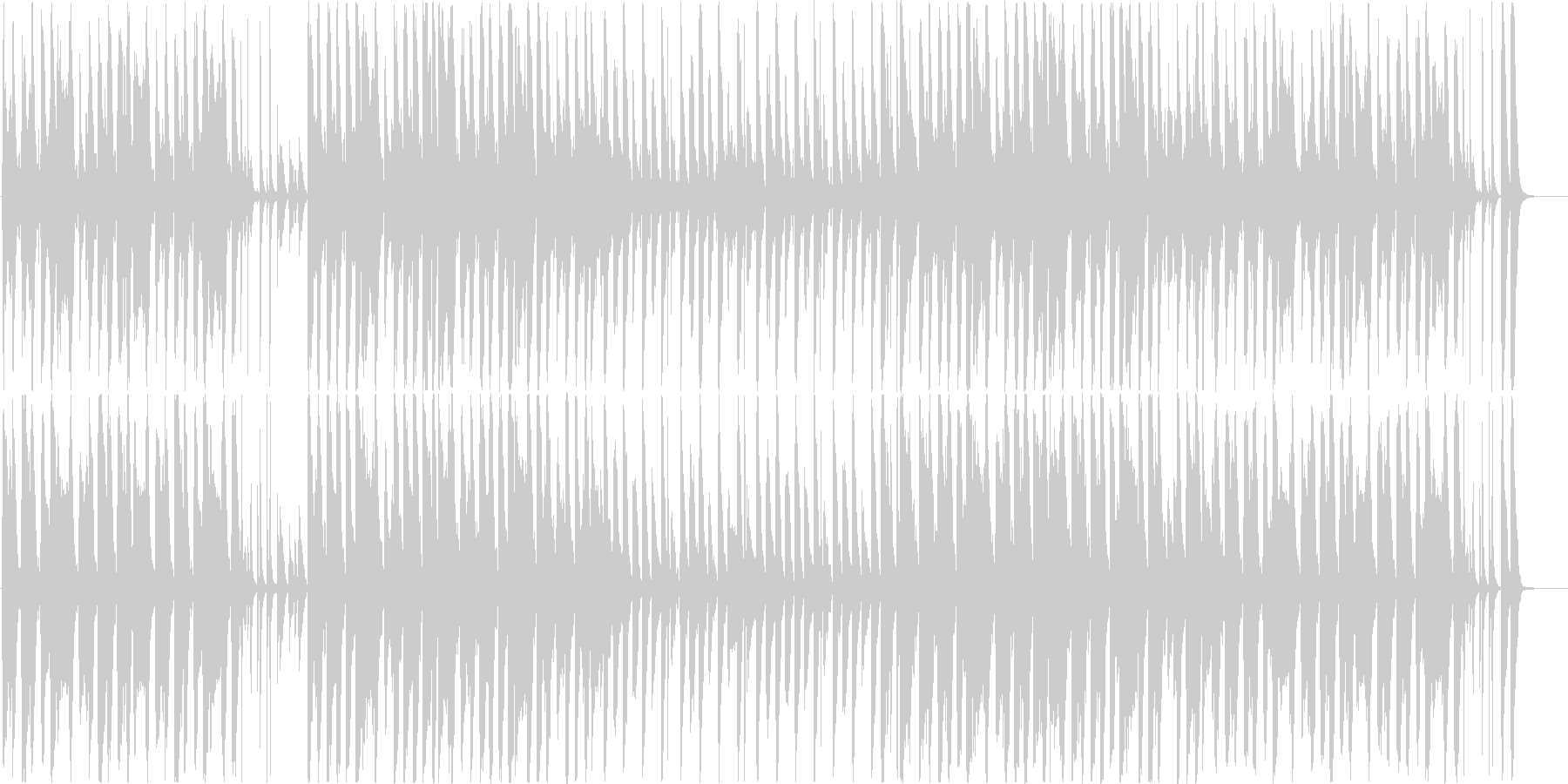 ファニーで穏やかなアコースティック♪の未再生の波形