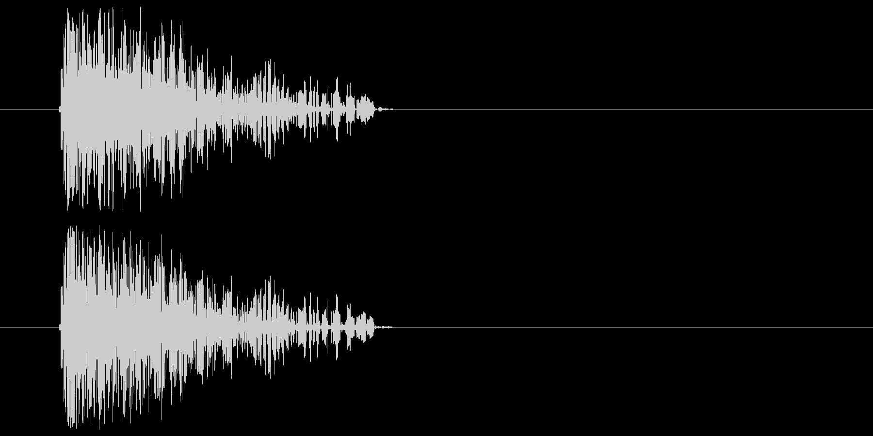 ファミコン風_敵攻撃音の未再生の波形