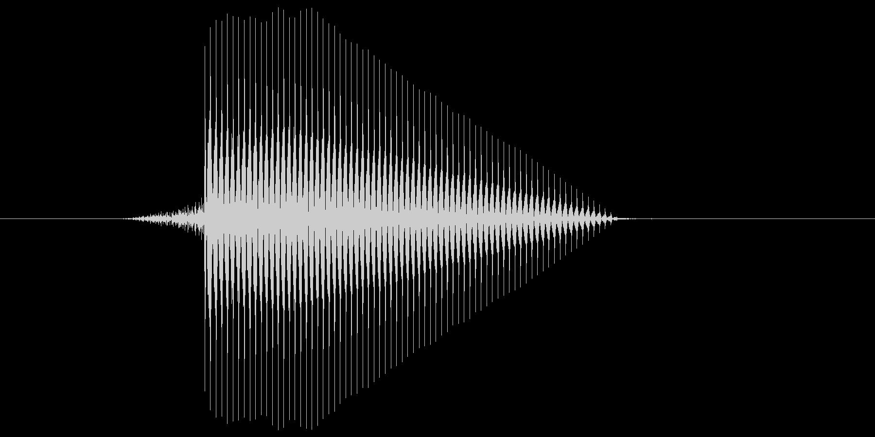 ゲーム(ファミコン風)セレクト音_039の未再生の波形