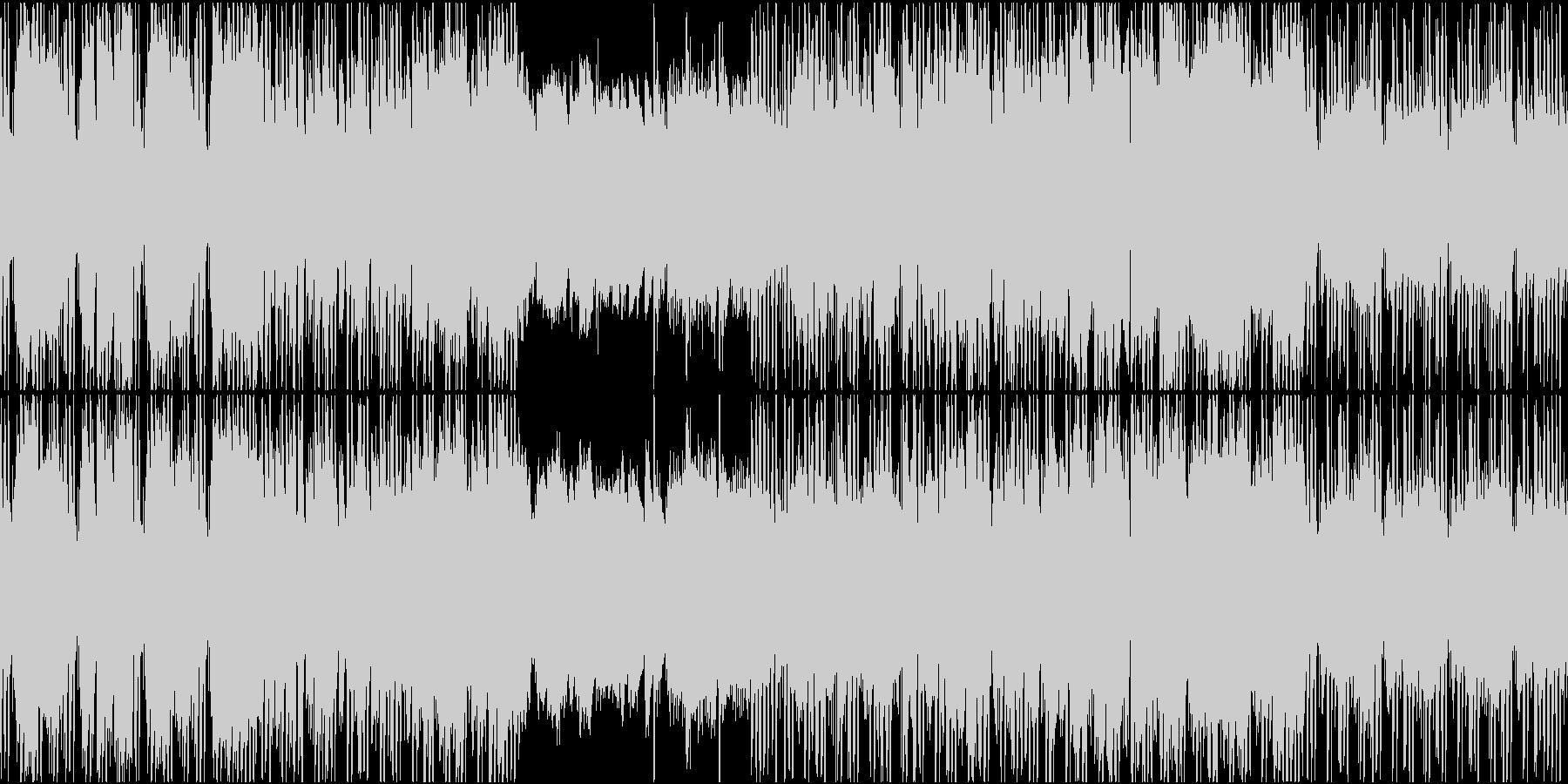 穏やかで優しいジャズヒップホップループの未再生の波形