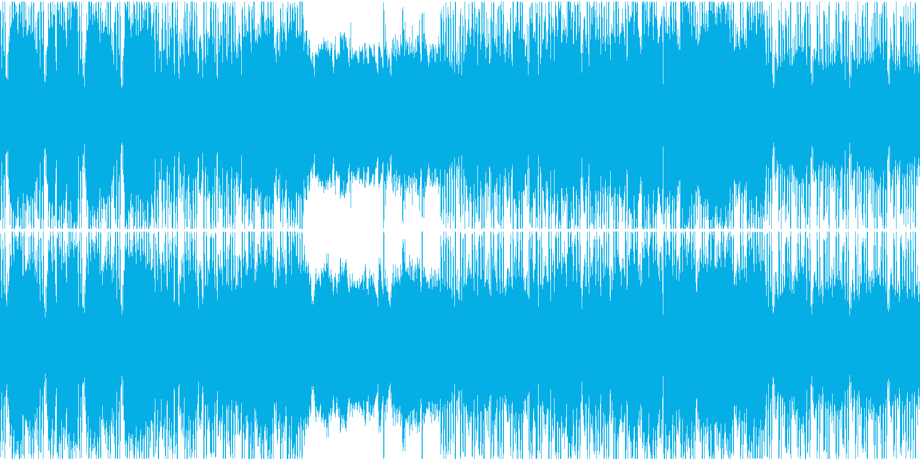 穏やかで優しいジャズヒップホップループの再生済みの波形