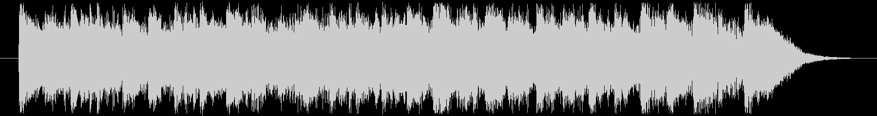 ジングルベル CMサイズの未再生の波形