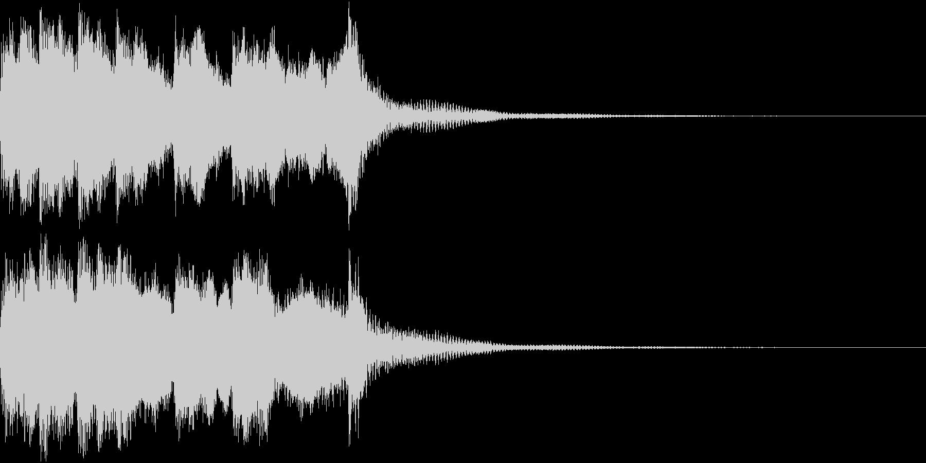 ファンファーレ 当たり 正解 合格 05の未再生の波形