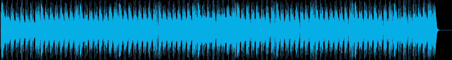 パワフルかつ情熱的でワイルドなロックの再生済みの波形